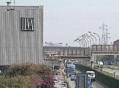 impianto siderurgico Ilva