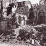 Ancona, 1/11/1943, la Chiesa di San Pietro distrutta