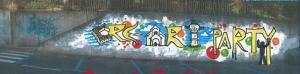 1 F&D graffito su muro