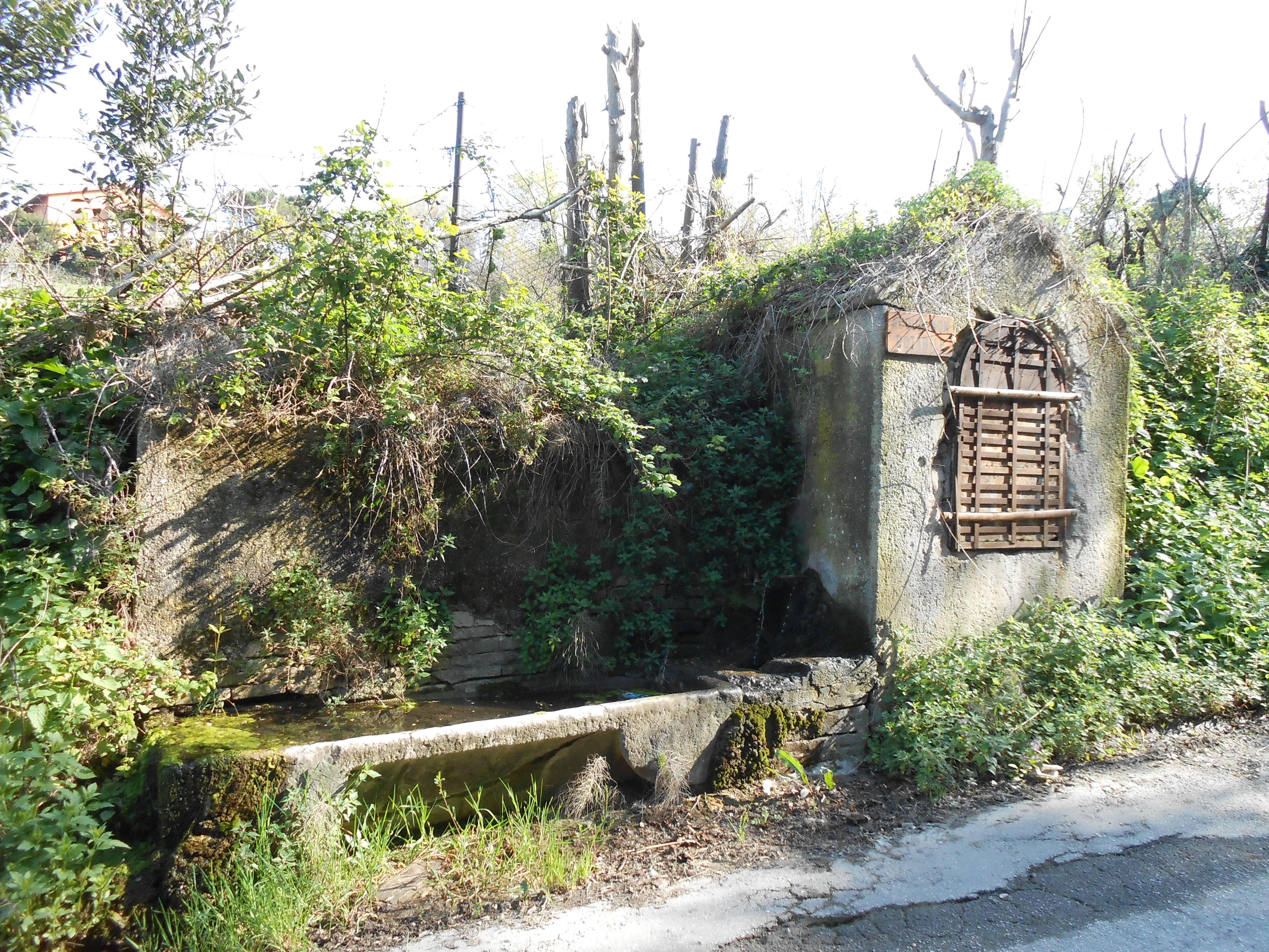 Il vicino di casa pulisce l antica fonte delle monache - Pulizia casa dopo lavori ...
