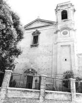 1) La chiesa di San Gregorio-San Bartolomeo che si affaccia su via Birarelli, ad Ancona (foto di Giancarlo Luporini)
