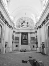2) L'interno della chiesa ora che la ristrutturazione è ultimata (foto di Giancarlo Luporini)