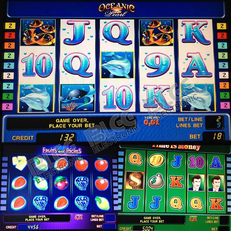 Casino gambling fonts