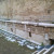 Il tratto, lungo una ventina di metri, di strada vicino alla Fontana del Calamo in corso Mazzini ad Ancona (foto di Silvia Breschi)