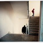 """3) """"Ma chi me le dà le informazioni?"""", sembra pensare questo desolato inquilino di colore, foto di Ennio Brilli"""