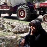 1) donna profuga da Afrin, Rojava, Siria settentrionale