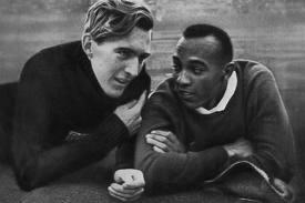 "Jesse Owens e ""Luz"" Long"