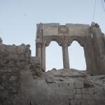 Aleppo, i bombardamenti non risparmiano neanche i siti archeologici (foto di Enea Discepoli)
